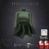 **Mistique** Hind Green plain (wear me and click to unpack)
