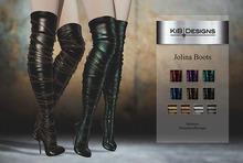 "KiB Designs - Jolina Boots Fatpack ""Wear"""