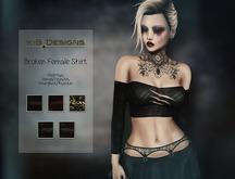 KiB Designs - Broken Shirt Female FATPACK