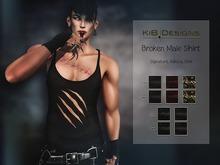 KiB Designs - Broken Shirt Male FATPACK