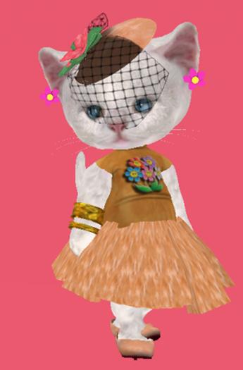 Lexxie Dinkies Happy Flowers Outfit