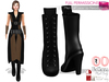 Full Perm Mid Calf Lace Up Period Boots - None Rigged