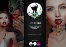 the crone . runic strength - scars