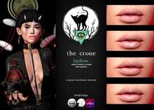 the crone . lip shine