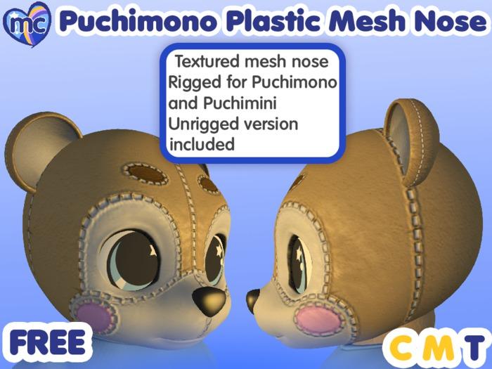 (mc) Free Puchimono Plastic Noses