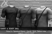 -Lexico- DEMO Shirt & Body Bag