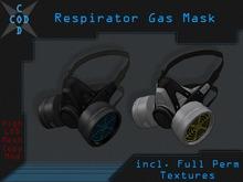 [COD] Respirator Gas Mask - Mesh