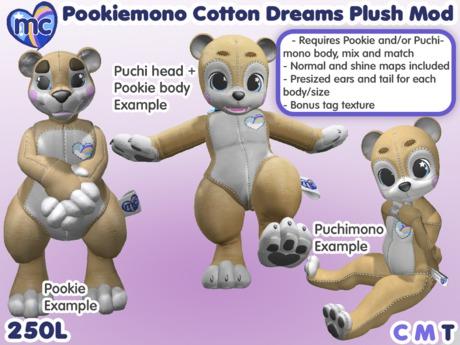 (mc) Pookiemono Cotton Dreams Plush Mod