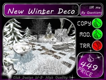 *> New *< >*Winter Deco <*