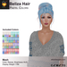 A&A Beliza Hair Pastel Colors V2, cute mesh nest updo style, resizable, low complexity