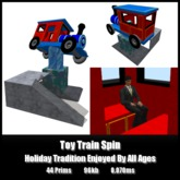 Toy Train Spin *0.070ms* low lag smooth non-physics