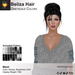 A&A Beliza Hair Greyscale Colors V2, cute mesh nest updo, low display weight