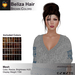 A&A Beliza Hair Brown Colors V2, cute nest mesh updo, low complexity