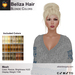 A&A Beliza Hair Blonde Colors V2, cute nest mesh updo, low display weight