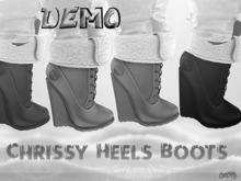 {RC}Chrissy Heels Boots Demo