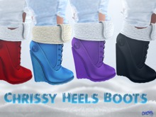 {RC}Exclusive Chrissy Heels Boots