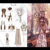 =Zenith=Druid Two-Hand Wand - RARE