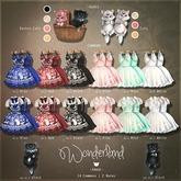 -Pixicat- Wonderland.Dress nr.2 - Pink (xxs)