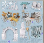 05 Snow Queen's yardsale - Carriage gold RARE