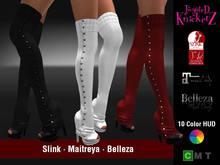 ::TK:: Knit Leg Warmer Heels