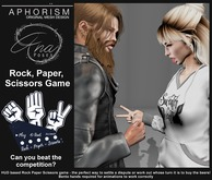 !APHORISM! & Ana Poses - Rock Paper Scissors Game