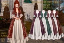 ":: ANTAYA :: Victorian gown dress ""Isabel"" FULL PACK \ Original mesh"
