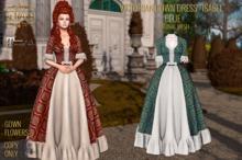 ":: ANTAYA :: Victorian gown dress ""Isabel"" blue / Maitreya / Original mesh"