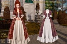 ":: ANTAYA :: Victorian dress ""Isabel"" pink / Maitreya / Original mesh"