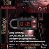 KDC Time-release padlock