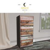 Space Oddities - Boho Filing Cabinet