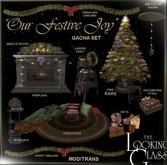 TLG - Our Festive Joy Ladder Shelf Boxed