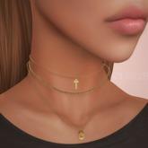 .Yen. Rose Necklaces