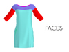 Faces tunic summer dress