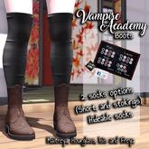 "[CoD!] ""Vampire Academy"" Boots"
