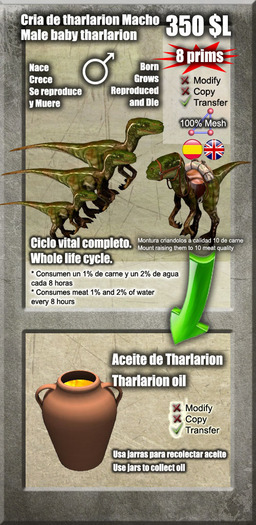 Baby male Tharlarion [G&S]
