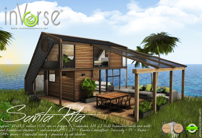 Santa Rita -  furnished  house cottage bxd 1.0