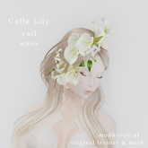 *N*CallaLily Vail white