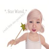 {Mini-Mini} Star Wand emits little stars