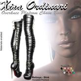 *XO* Overknee Platform Chain Boots
