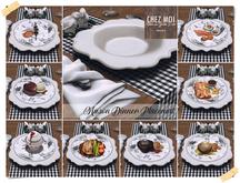 Mason Dinner Placemat ♥ CHEZ MOI