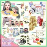`M.BIRDIE / Merry look-skirtA4 Maitreya