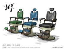 Soy. Old Barber Chair [addme]