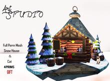 Art Studio - FULL PERM - Snow House[Gift]