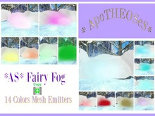 *AS* Mesh Cloud Copy V FatPack Fairy 14 Colors Fog Emitter