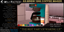 Wolf Tactics - EZ-BREW 1000 Coffee Maker