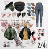 `M.BIRDIE / Pinpin look.Bag A4