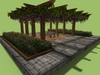"6 prim full perm ""Wine Arbor"" sculpt maps kit, any texture + bonuses"