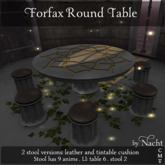 *~ by Nacht ~ Forfax Round Table  (Wear to unpack)
