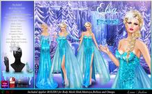 -Lamu Fashion-Dress *Elsa* Inspired Frozen* UPDATE FOR MESH BODY