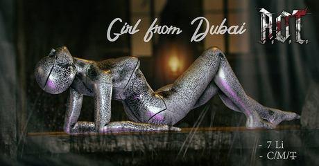 R.O.T. - girl from Dubai silver box